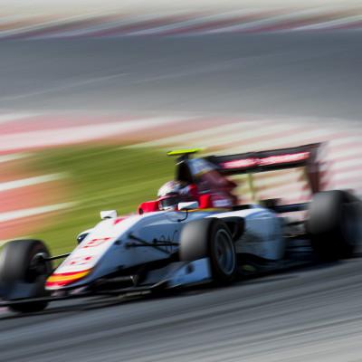 Hyman wraps up GP3 Test program