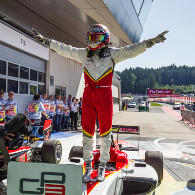 Hyman Soars to Maiden Victory
