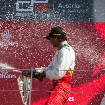 Raoul Hyman claims maiden GP3 Win